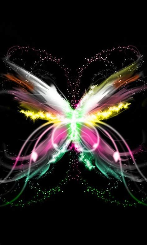 new themes butterfly neon butterfly theme 480x800 android apps on google play