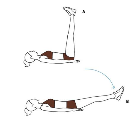 move 3 leg drop lower abdominal exercises real simple