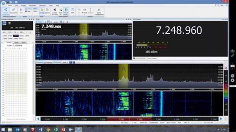 sdr console ham radio chat on 40m band via sdr console and perseus sdr