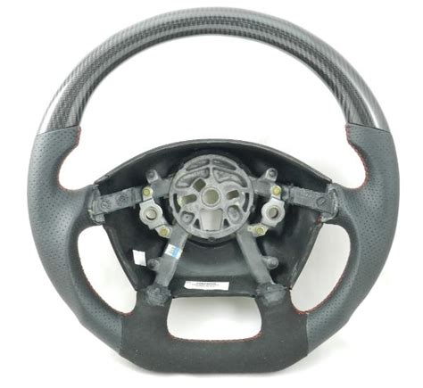 auto dynamics corvette carbon fiber interior steering