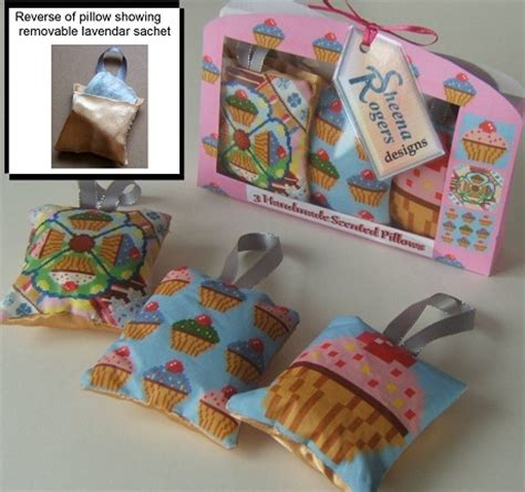 How To Make Scented Pillows by Cup Cakes 3 Scented Pillows Sheena Rogers Designs