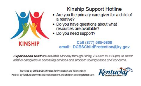 Dcbs Local Office Search by Resources Kinship Families Coalition Of Kentucky