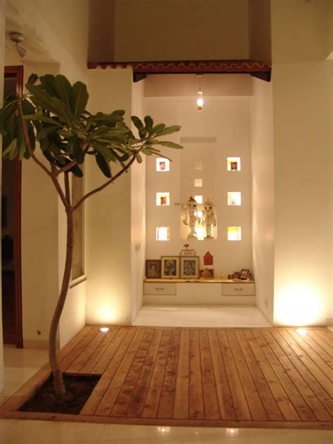 contemporary pooja mandir home design ideas pictures