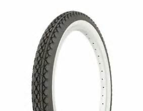 Tires For Less West 26 26 Quot Cruiser Tire Bike 26 X 2 125 Black And White Ebay