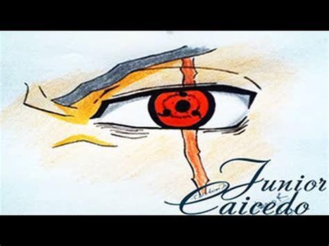 imagenes de ojos sharingan dibujo ojo sharingan de kakashi youtube