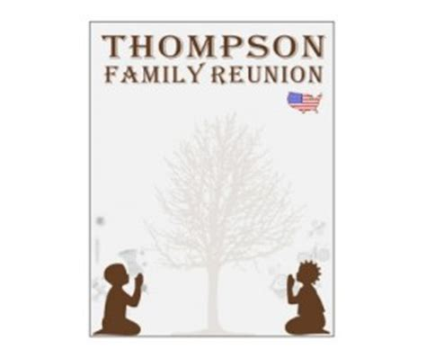 African American Family Reunion Quotes Quotesgram Family Reunion Templates