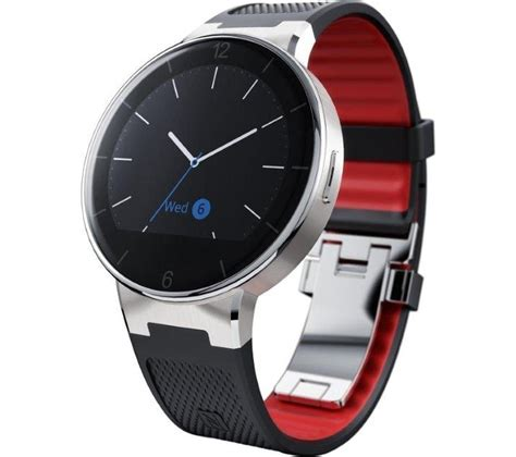 Smartwatch Alcatel One Touch Buy Alcatel Onetouch Smartwatch Black Free Delivery