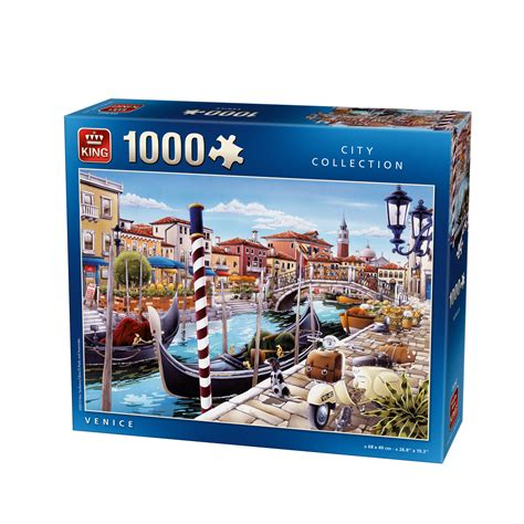 puzzle venice king puzzle 05362 1000 pieces jigsaw puzzles towns and villages jigsaw puzzle