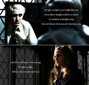 draco malfoy hermione granger images dramione