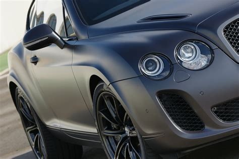 grey bentley dark grey satin continental supersports eurocar news