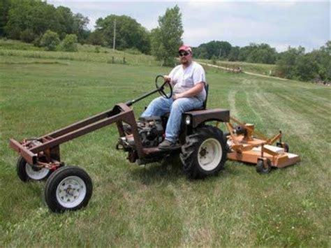 home built garden tractor search tractors