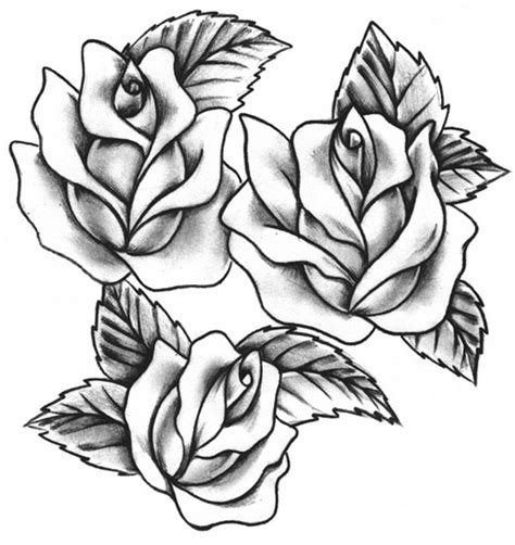 roses tattoo flash tattoos designs ideas and meaning tattoos for you