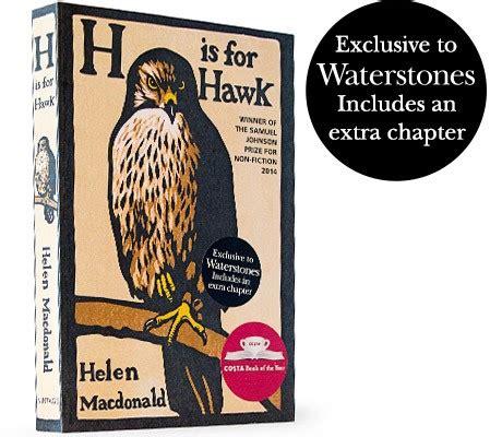Waterstones Gift Card Balance Check - h is for hawk waterstones exclusive by helen macdonald waterstones