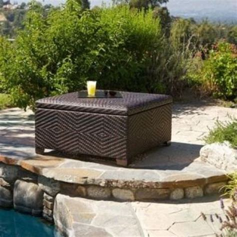 outdoor ottoman with storage 20 smart outdoor storage furniture ideas shelterness