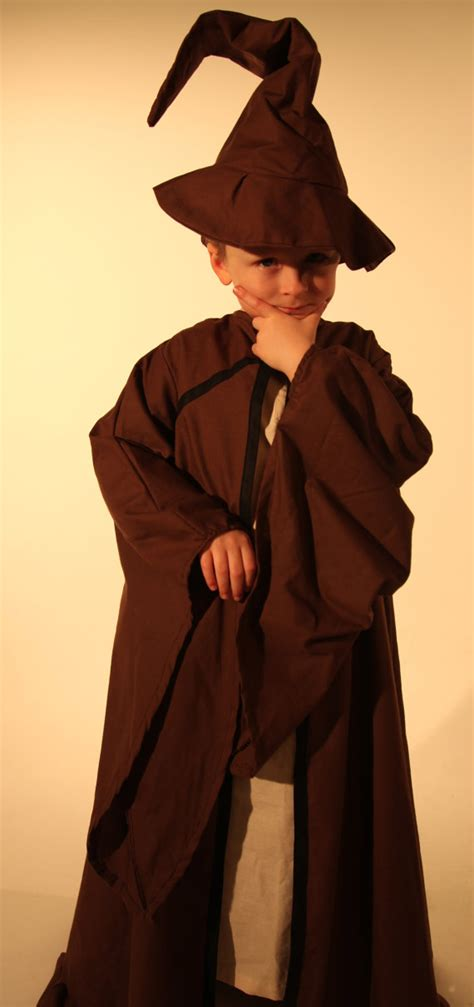 Handmade In Costume - childrens wizard costume handmade in all sizes by kenickys