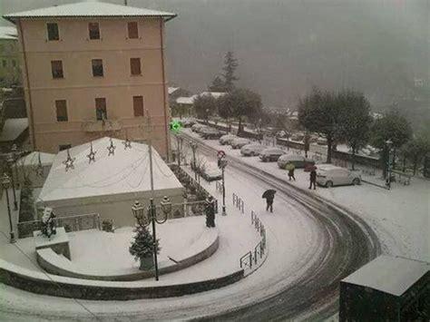 ufficio meteo frosinone meteo temperature in calo torna la neve frosinone