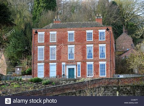 darby house nash house coalbrookdale where abraham darby the third was born and stock photo