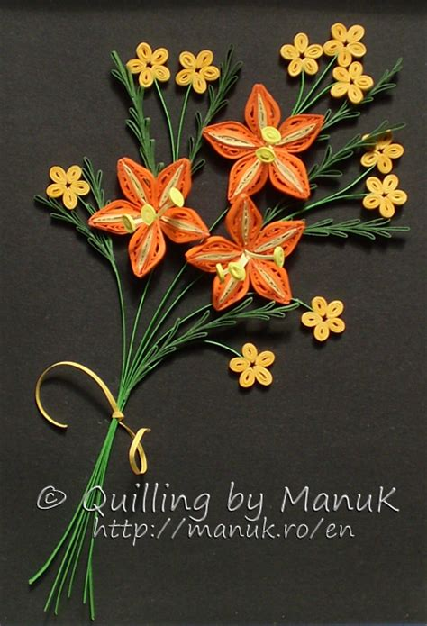 Quilling Wedding Bouquet by Quilled Bouquet Quilling By Manuk