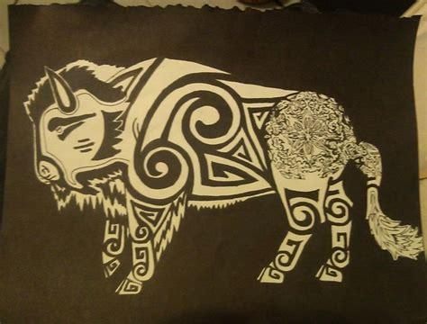 bison tattoo designs best 25 bison ideas on buffalo