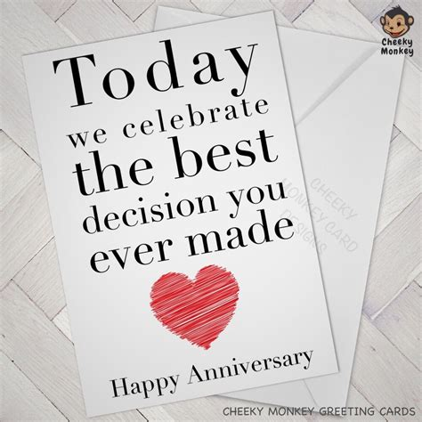 anniversary card engagement cards wedding husband boy ebay