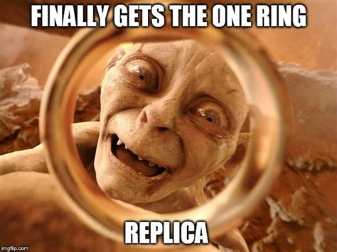Ring Meme - smeagol ring meme 40913 softhouse