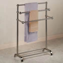 free standing bath towel rack stylish towel stand concept interior design