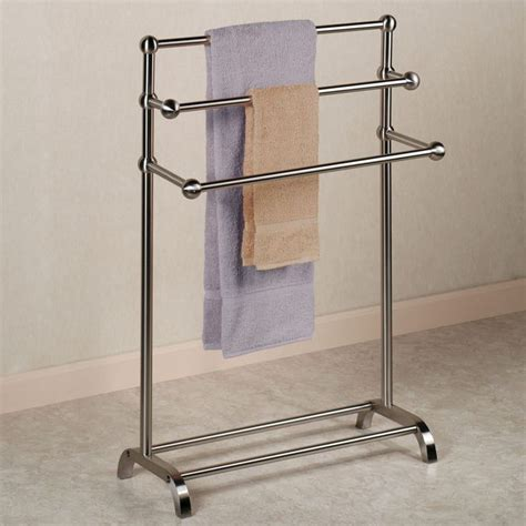 free standing towel stands for bathrooms stylish towel stand concept interior design pinterest