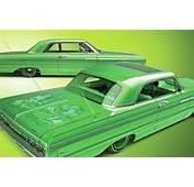 1964 Chevrolet Impala  Lime Green Machine