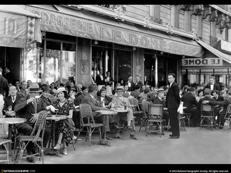 Ernest Hemingway A Clean Well Lighted Place Paris Cafe 610217 Lw City Of Strangers