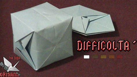 origami tutorial ita origami ita cubo gonfiabile origami per bambini o