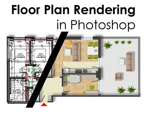 floor plan renderings floor plan rendering in photoshop arch student