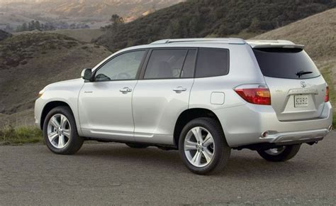 Toyota Highlander Reviews 2010 2010 Toyota Highlander Review Car Reviews