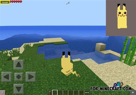 mod in minecraft pe pokesimulator mod for mcpe 0 10 5