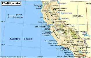 map of so california cities california map with all cities