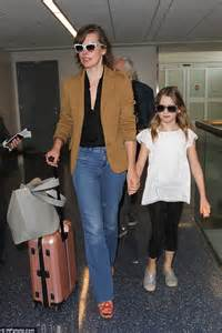 milla jovovich old milla jovovich dons lookalike sunglasses with her daughter