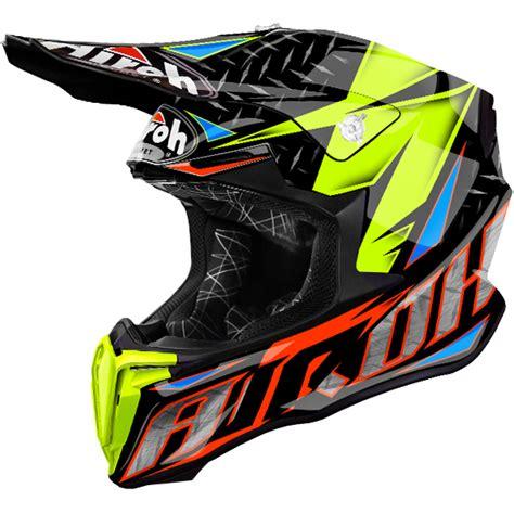 airoh motocross helmets uk 2018 airoh twist helmet iron orange dirtbikexpress