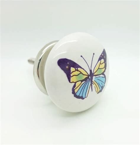 Butterfly Door Knobs by Butterfly Cupboard Drawer Door Pull Handle Knob By G Decor Notonthehighstreet