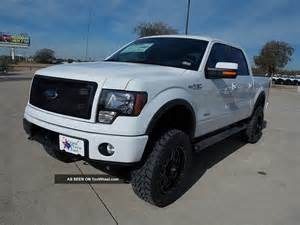 Ford F 150 2013 2013 Ford F 150 Supercrew Fx4 Lifted