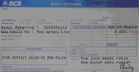 format transfer sms banking bca cara deposit rmw pulsa