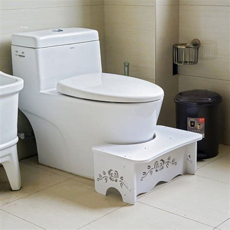 potty bench bathroom toilet stool bench for commode aid squatty step