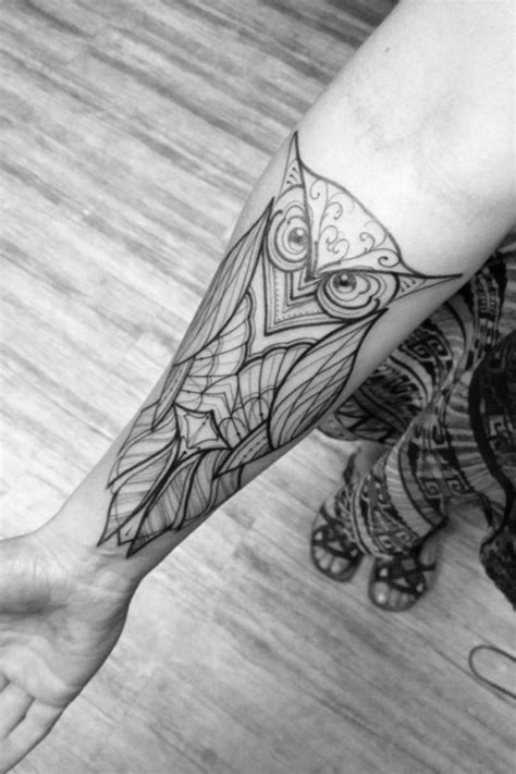 owl tattoo black and white 47 best owl tattoos of all time tattooblend