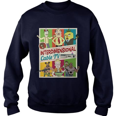 Sweater Inter offical interdimensional cable tv shirt hoodie sweater and v neck t shirt