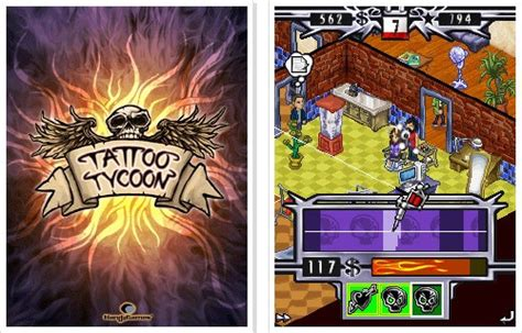 tattoo tycoon 15 for nokia x3 02 touch and type mobile phone
