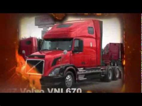 18 wheeler volvo trucks for sale 18 wheeler volvo vnl670 semi truck for sale youtube