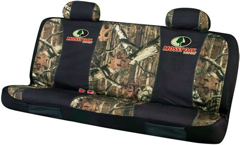 bench seat covers camo mossy oak universal fit bench seat cover polyester