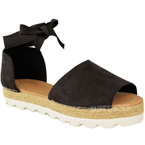 summer shoes flats womens flat lace up sandals espadrilles summer