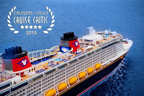 cruisers choice best cruise ships of 2015 kingdom magic vacations