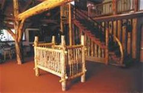 how to build a log baby crib log cribs on pinterest baby cribs log furniture and logs