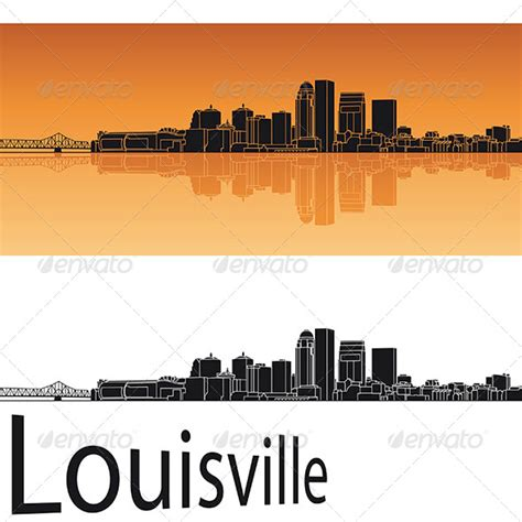 Louisville Ky Skyline Outline by Louisville Skyline Outline 187 Dondrup