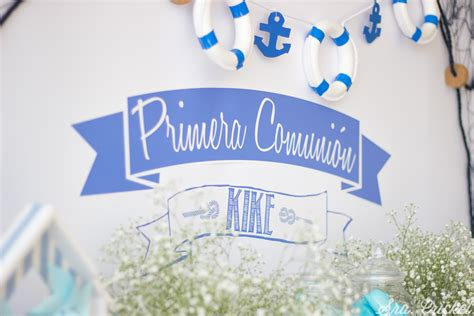 carteles de primera comunion comuni 243 n marinera para ni 241 o una decoraci 243 n de comuni 243 n
